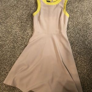 Muse size 2 gray and neon Dress